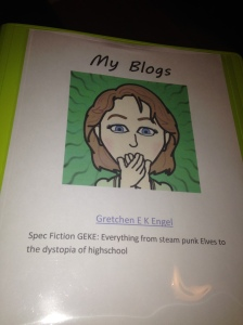 My blog binder