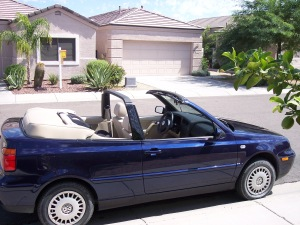 The first brand-new car I bought was a 2002 VW Cabrio. I don't expect it to be my last VW.